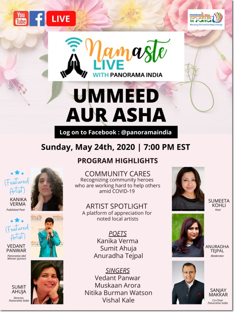 Namaste Live May 24 Flyer